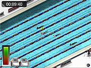Giochi di Gare di Nuoto - Swimming Race