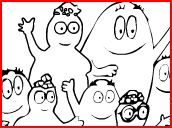 Giochi di Barbapapa da Colorare