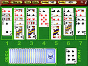 Gioco Solitario - Crystal Golf Solitaire